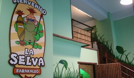 Parque LA SELVA. Barakaldo 2002