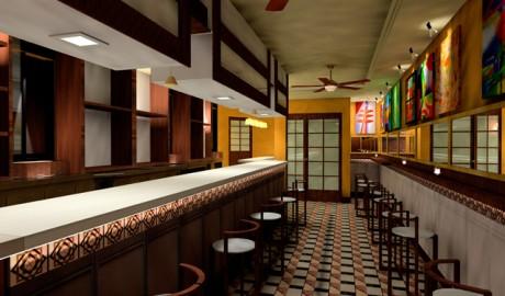 3D Café-Bar LA PLAZA Algorta
