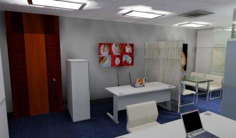 3D Oficinas PARBER Leioa