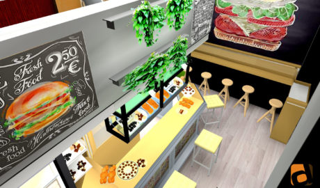 3D Hamburguesería Bilbao