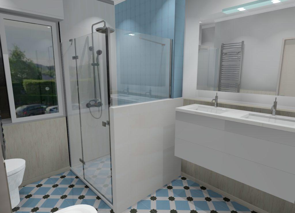Reforma de baños en chalet LAUKARIZ