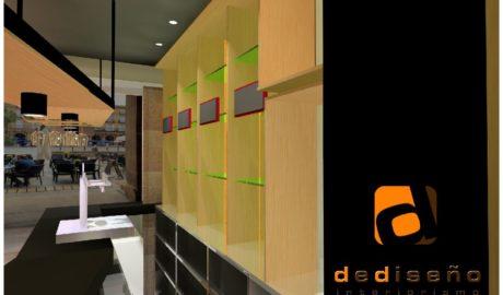 3D Diseño Bar en Plaza Nueva BILBAO